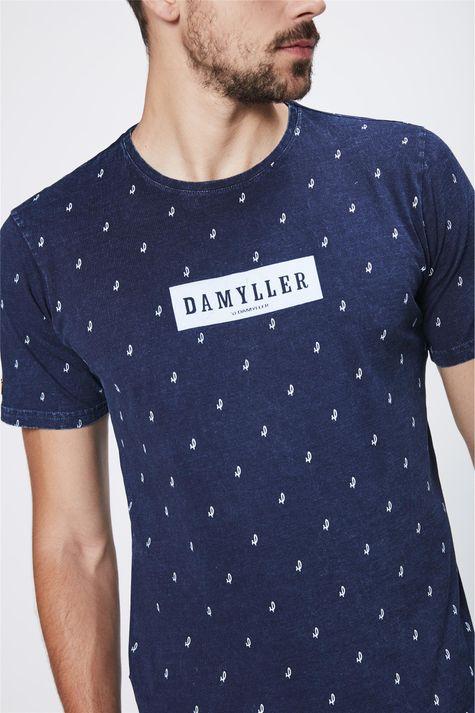 Camiseta-de-Malha-Denim-Unissex-Detalhe--