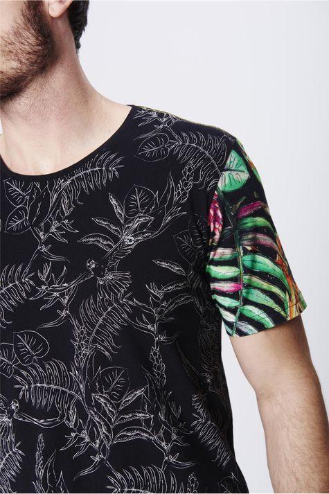 Camiseta-Fit-Estampada-Unissex-Detalhe--