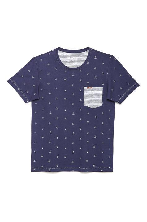 Camiseta-Estampada-com-Bolso-Masculina-Detalhe-Still--