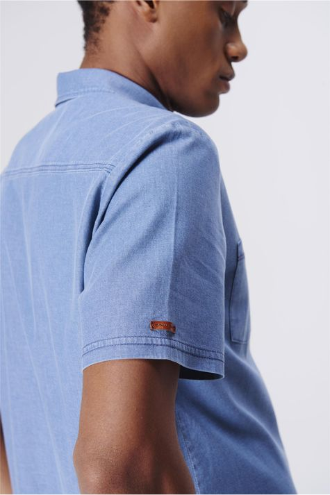 Camisa-Jeans-Masculina-Bolsos-Frontais-Detalhe-1--