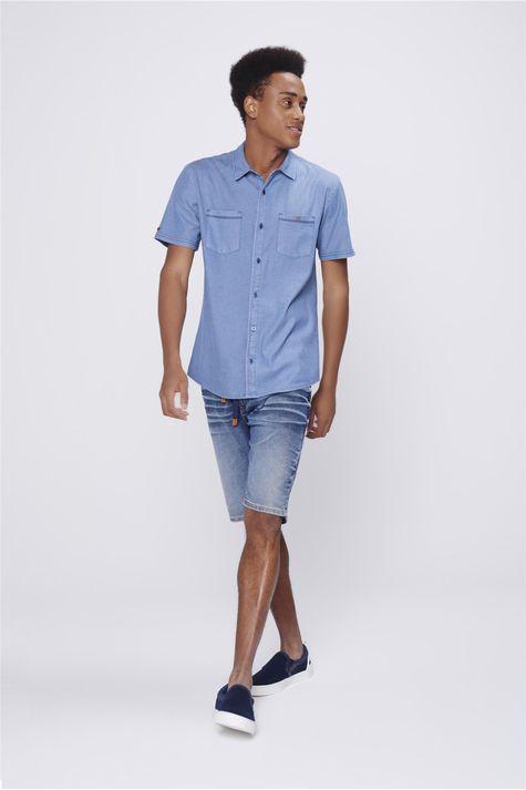 Camisa-Jeans-Masculina-Bolsos-Frontais-Detalhe-2--