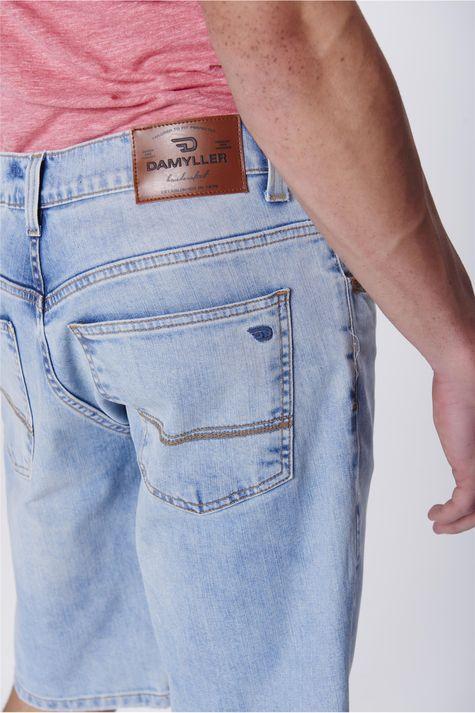 Bermuda-Jeans-Reta-Masculina-Detalhe--