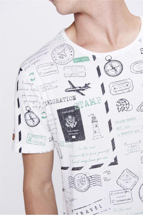 Camiseta-Estampada-Masculina-Detalhe--