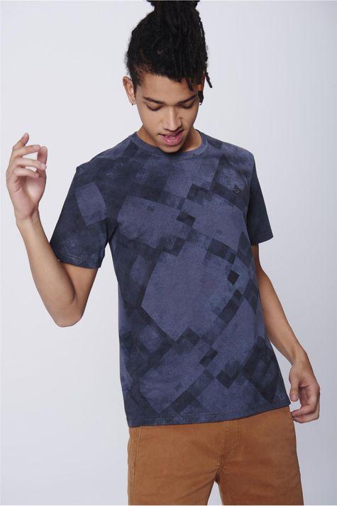 Camiseta-Masculina-Estampa-Geometrica-Frente--