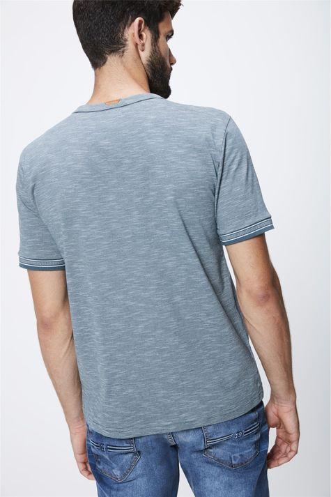 Camiseta-Masculina-Mangas-com-Retilinea-Costas--
