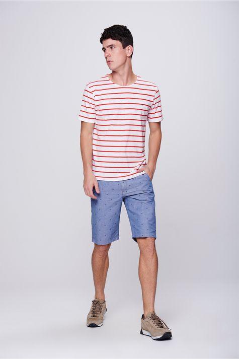 Camiseta-Basica-Listrada-Masculina-Detalhe-1--