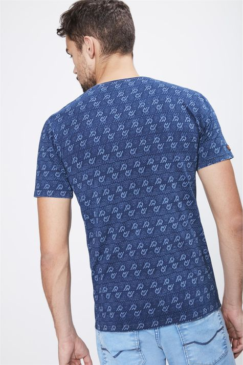Camiseta-com-Print-de-Repeticoes-Costas--