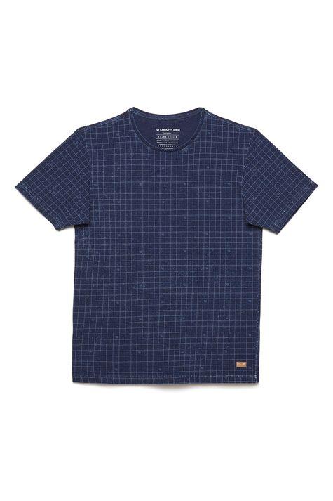 Camiseta-de-Malha-Denim-com-Print-Xadrez-Detalhe-Still--