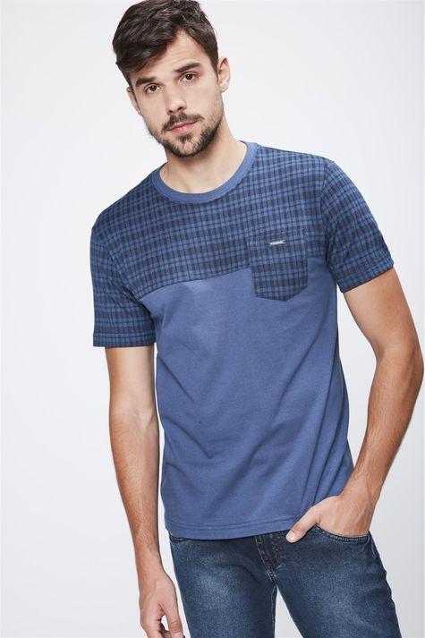 Camiseta-Mix-de-Texturas-Masculina-Frente--