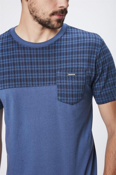 Camiseta-Mix-de-Texturas-Masculina-Detalhe--