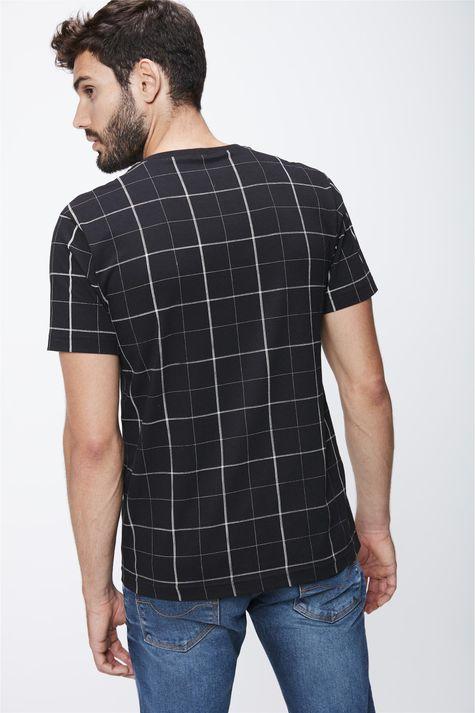 Camiseta-Xadrez-Masculina-Costas--