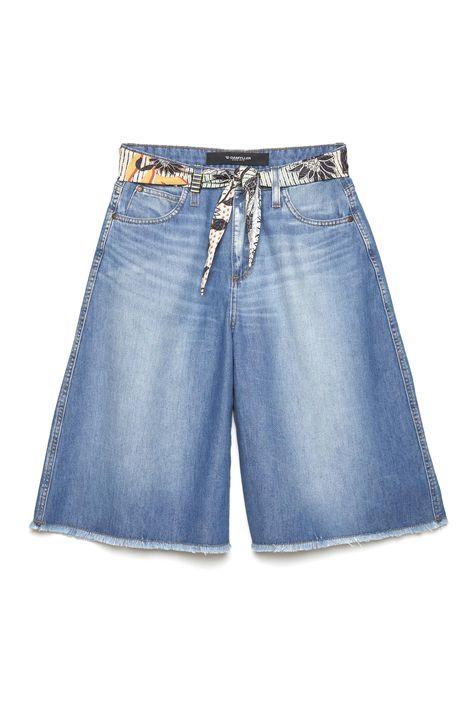 Bermuda-Feminina-Jeans-Cinto-de-Lenco-Detalhe-Still--