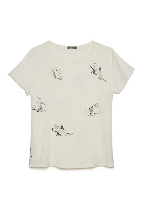 Camiseta-Feminina-Estampa-Repeticao-Detalhe-Still--