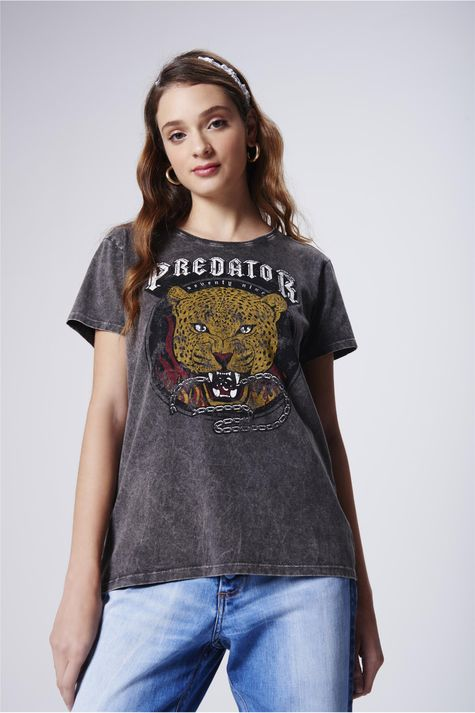 Camiseta-Estampa-Predator-Feminina-Frente--