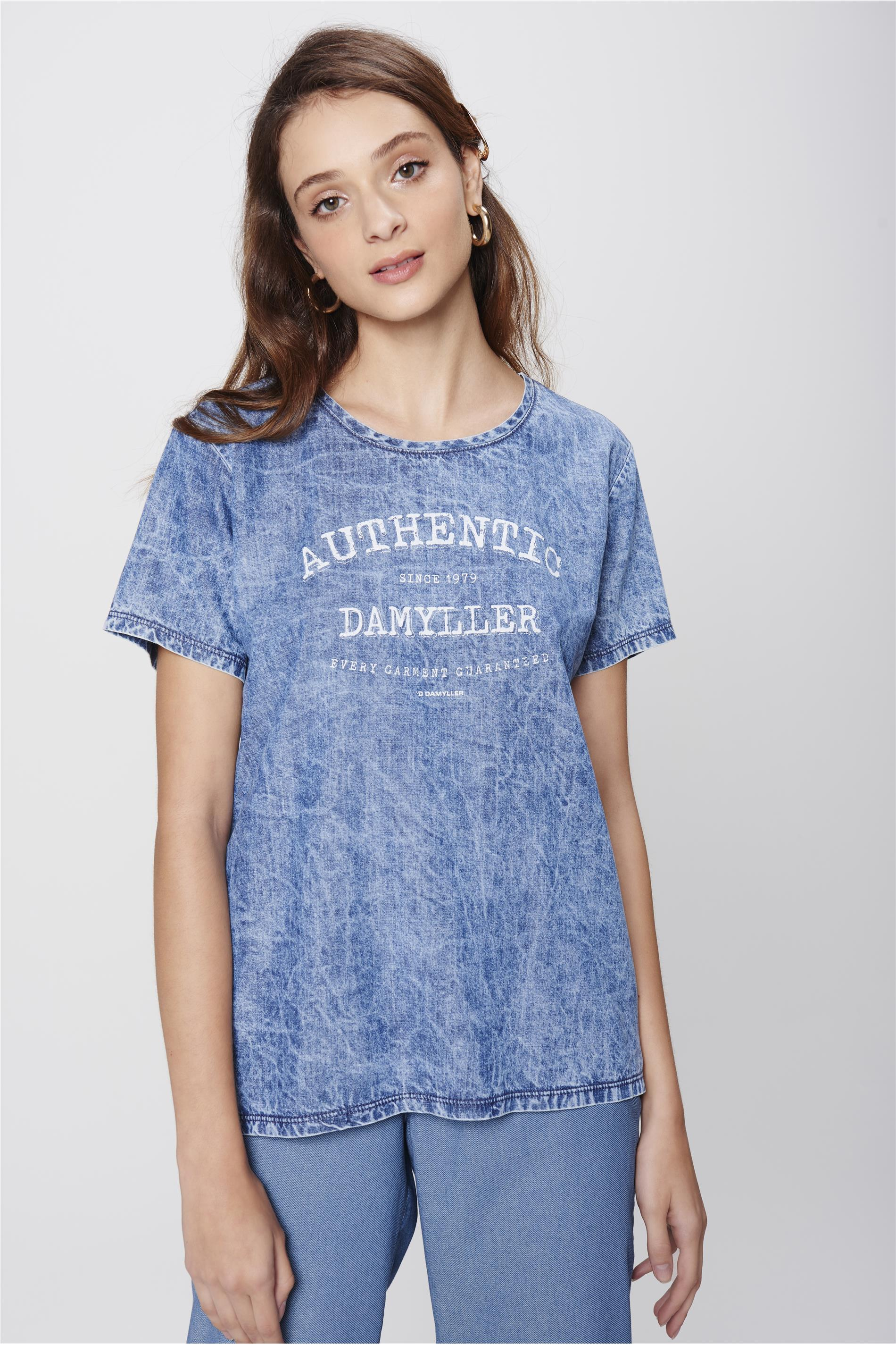 58fc67c05 Damyller · Moda Feminina · Blusas · Camiseta. abrir
