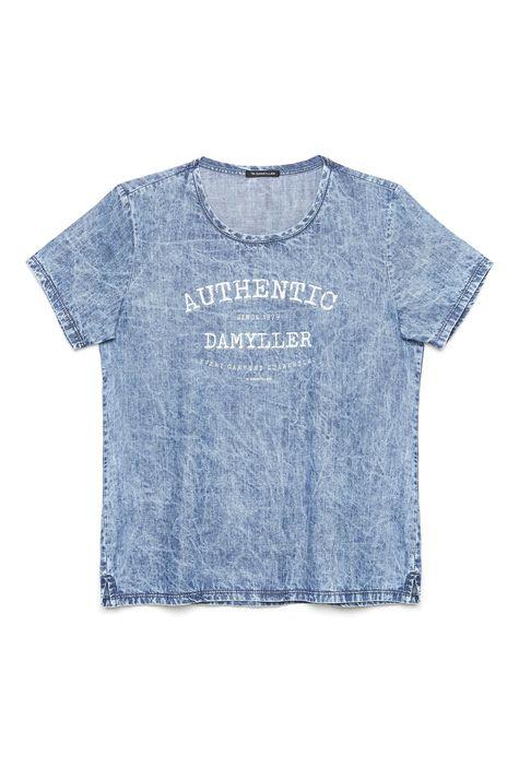 Camiseta-Jeans-Estampada-Feminina-Detalhe-Still--