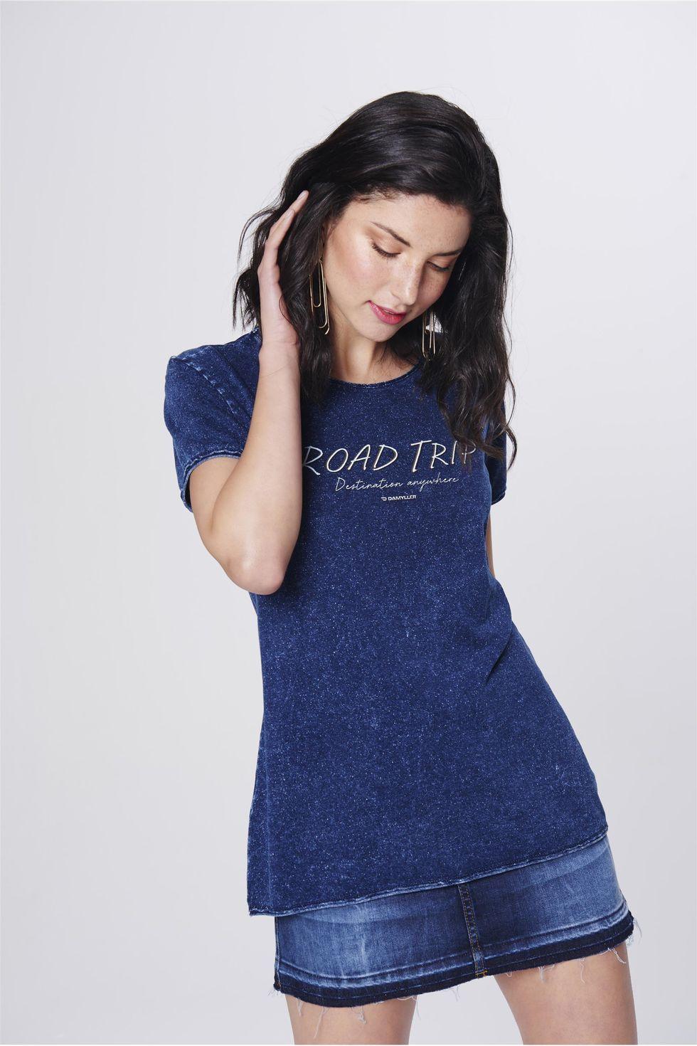Camiseta-Feminina-de-Malha-Denim-Frente--