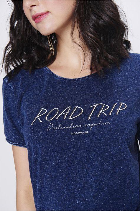 Camiseta-Feminina-de-Malha-Denim-Detalhe--