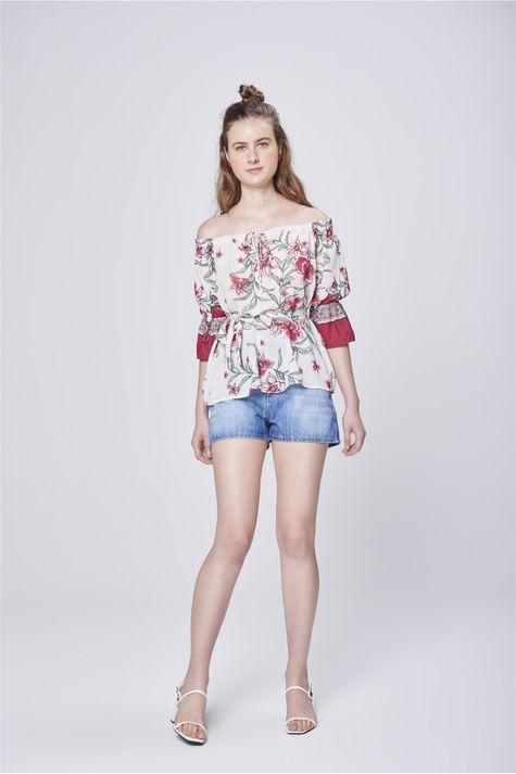 Bata-Ombro-a-Ombro-Estampa-Floral-Detalhe-1--