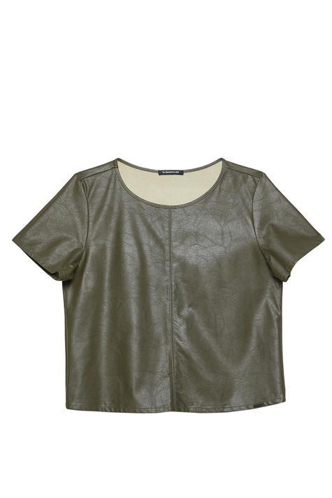 Blusa-Verde-Resinada-Feminina-Detalhe-Still--