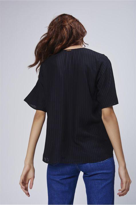 bb254cb5e Camiseta Decote V Feminina - Damyller