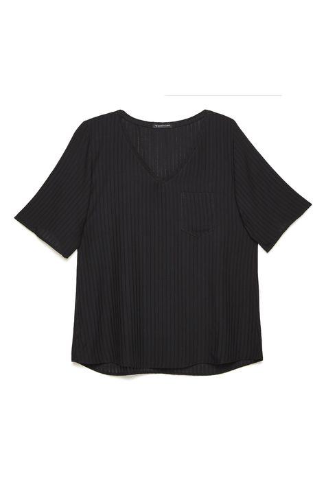 Camiseta-Decote-V-Feminina-Detalhe-Still--