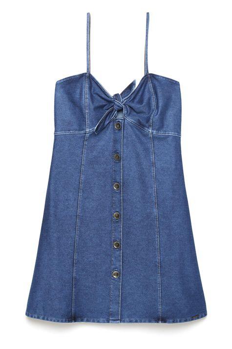 Vestido-Jeans-Com-Amarracao-e-Botoes-Detalhe-Still--
