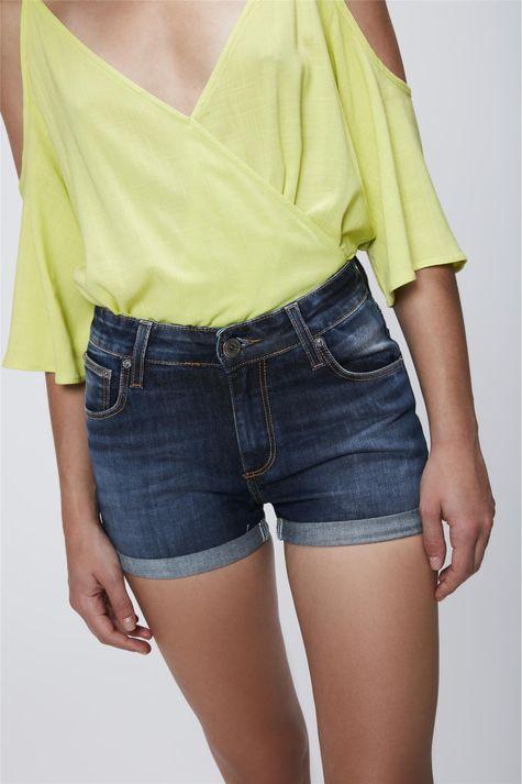 Short-Jeans-com-Cintura-Alta-Feminino-Frente-1--