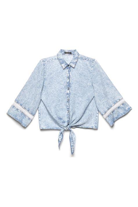 Camisa-Jeans-com-Amarracao-Feminina-Detalhe-Still--