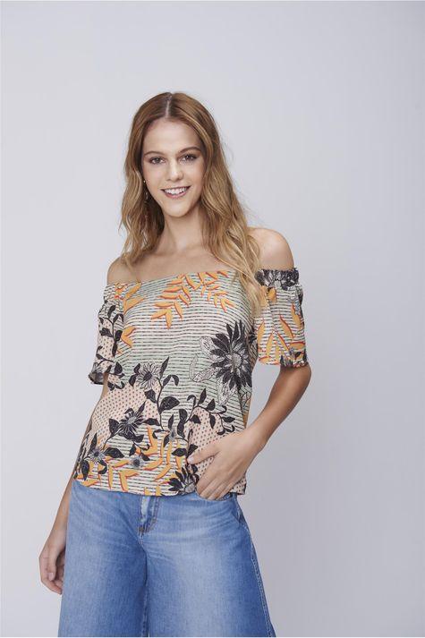 Blusa-Decote-Ombro-a-Ombro-Floral-Frente--