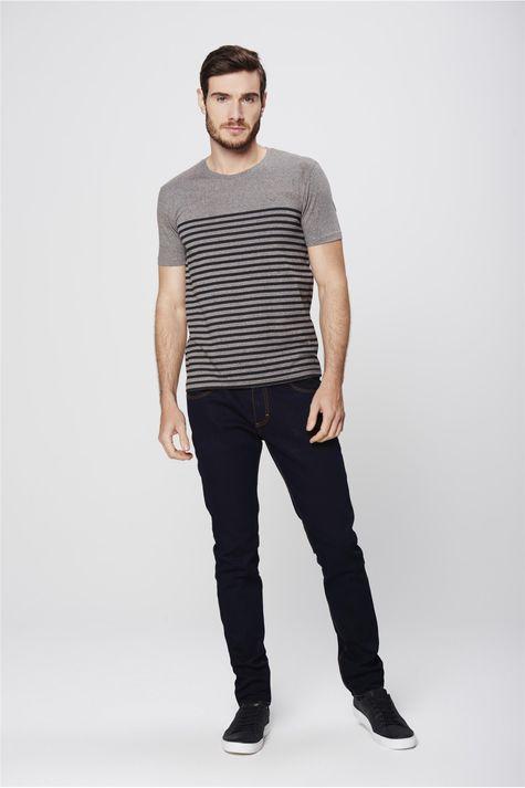 Camiseta-Listrada-Malha-Mescla-Masculina-Detalhe-1--