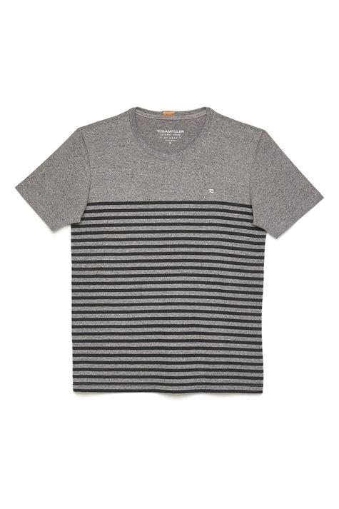 Camiseta-Listrada-Malha-Mescla-Masculina-Detalhe-Still--
