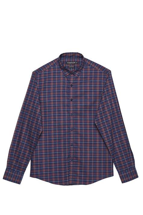 Camisa-Xadrez-Manga-Longa-Masculina-Detalhe-Still--