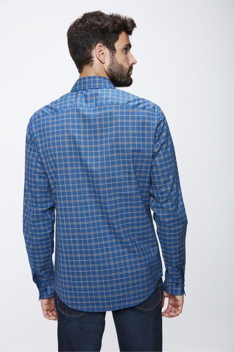Camisa-Xadrez-Manga-Longa-Masculina-Costas--