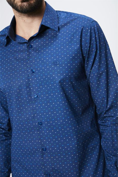 Camisa-Estampada-Manga-Longa-Masculina-Detalhe--