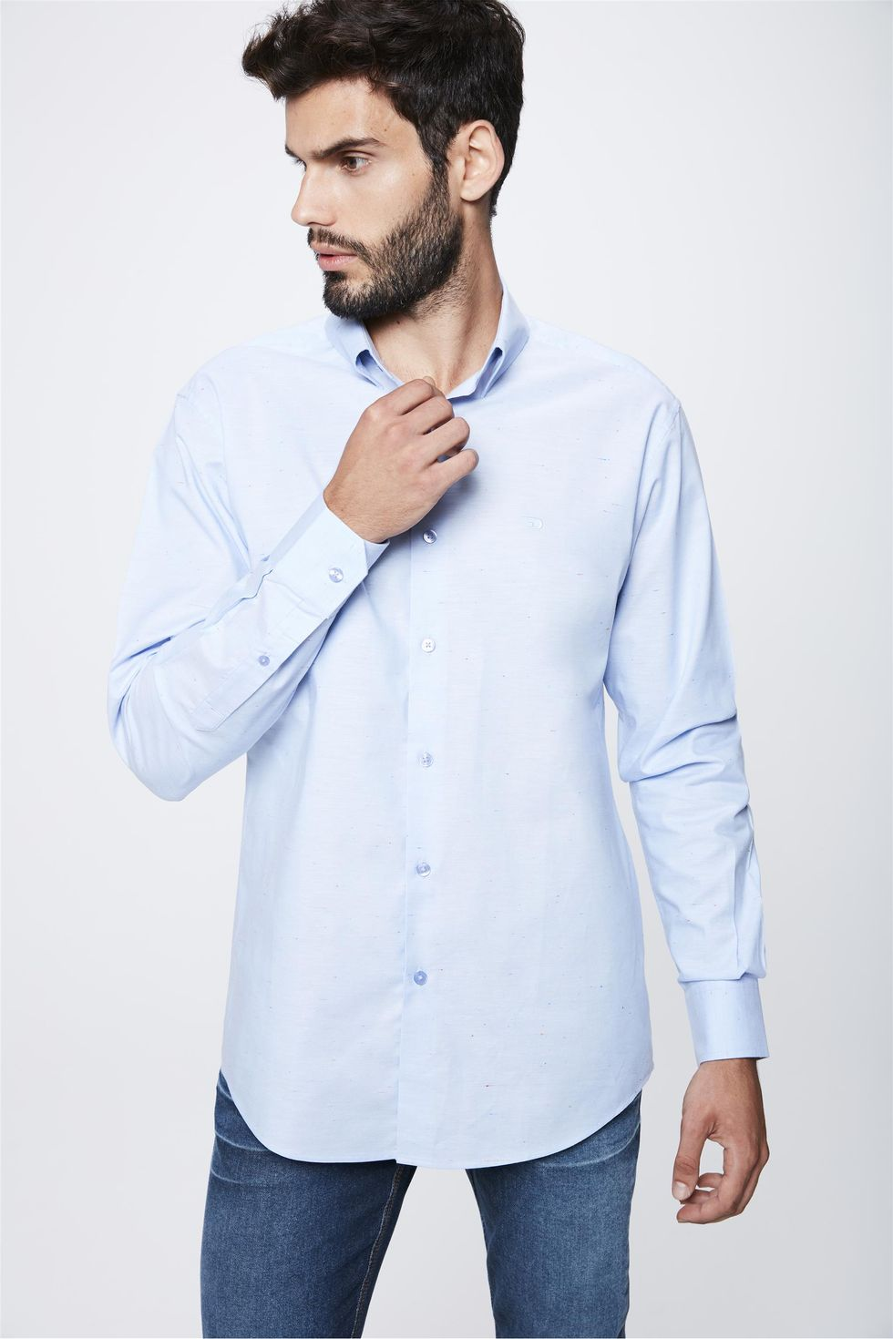 Camisa-Social-Manga-Longa-Masculina-Frente--
