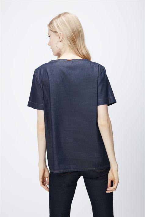 Camiseta-Jeans-Escuro-Feminina-Costas--