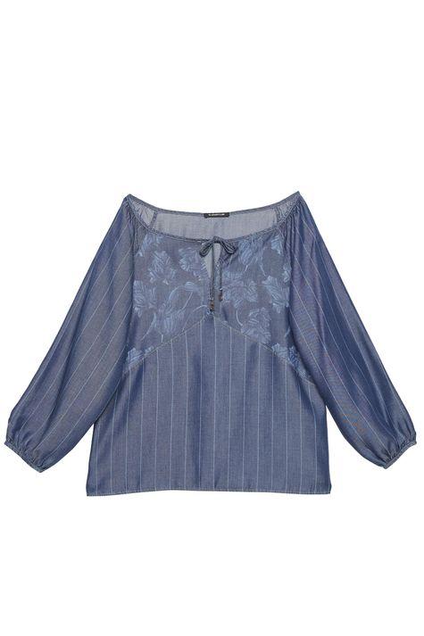 Blusa-Jeans-com-Amarracao-Feminina-Detalhe-Still--
