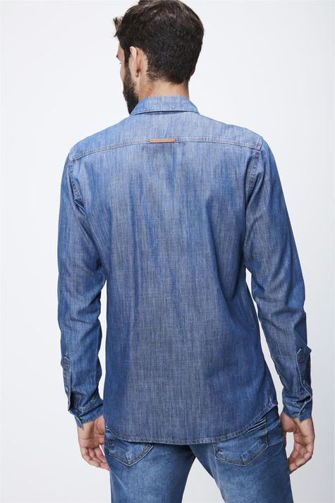 Camisa-Jeans-Basica-Masculina-Costas--