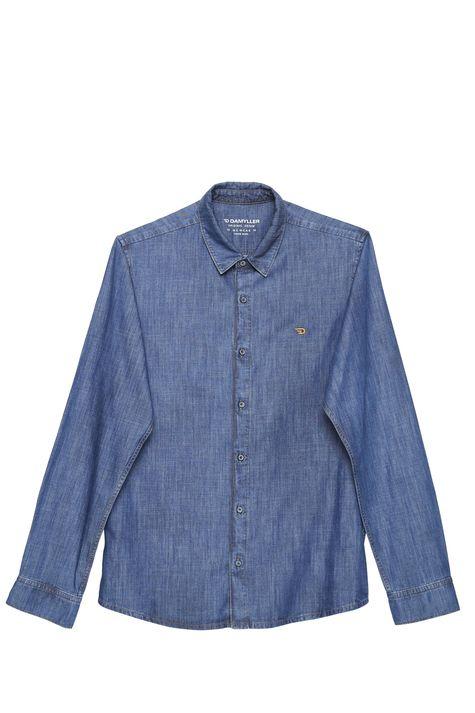 Camisa-Jeans-Basica-Masculina-Detalhe-Still--