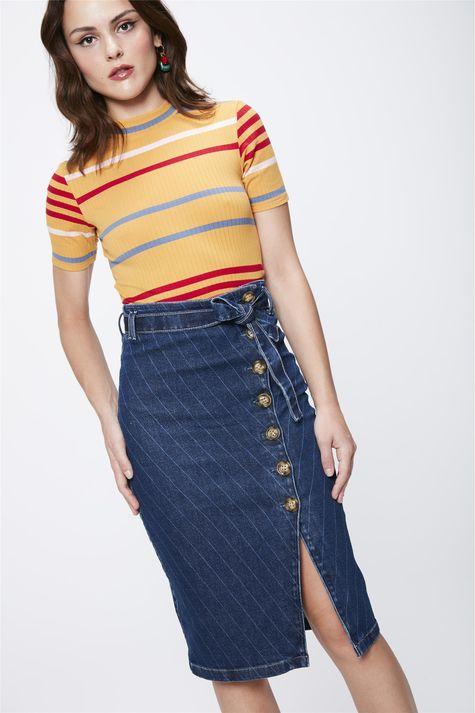 Saia-Jeans-com-Listras-e-Amarracao-Frente--