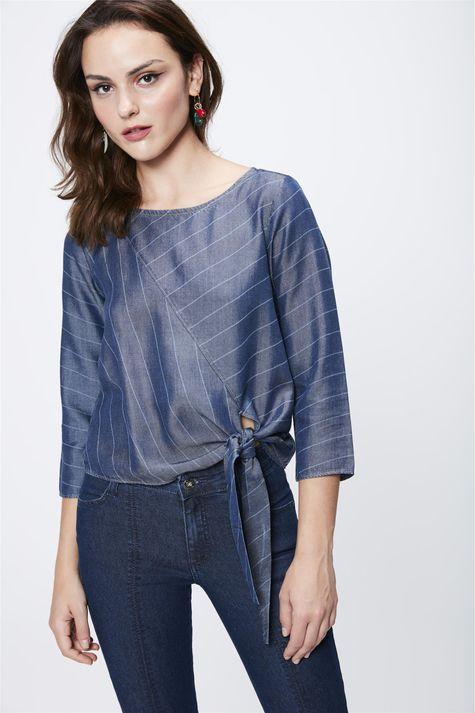 Blusa-Jeans-Feminina-Com-Amarracao-Frente--