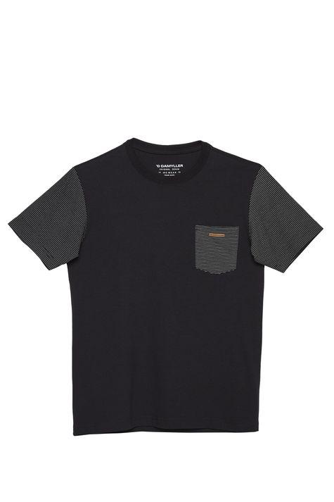 Camiseta-com-Manga-Listrada-Masculina-Detalhe-Still--