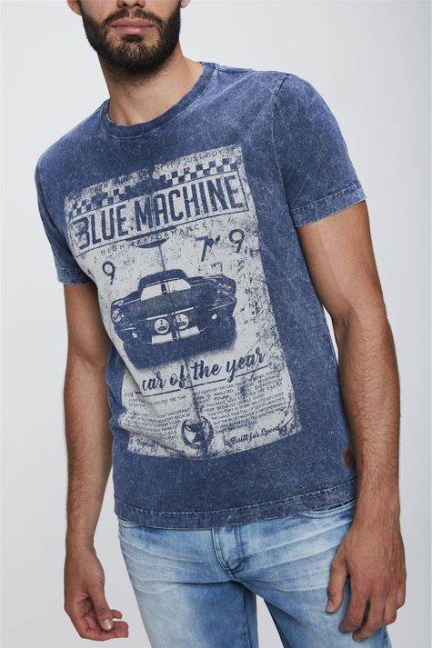 Camiseta-Tingida-com-Silk-Masculina-Detalhe--