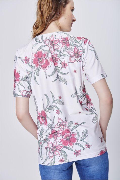 Camiseta-com-Estampa-Floral-Unissex-Costa--