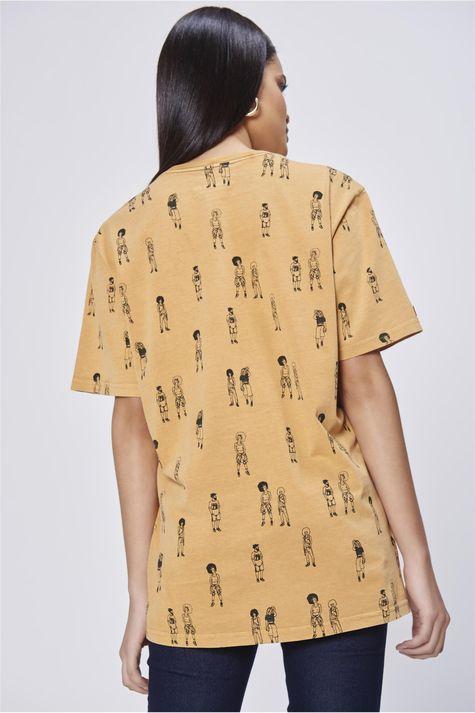 Camiseta-Unissex-Estampa-Repeticao-Costas--