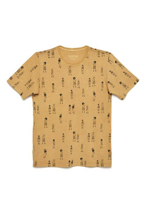 Camiseta-Unissex-Estampa-Repeticao-DetalheStill--
