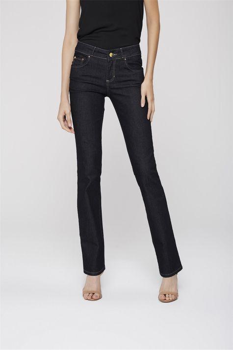 c9470e48c ... Calca-Jeans-Reta-Basica-Etiqueta-Bolso-Frente-- ...