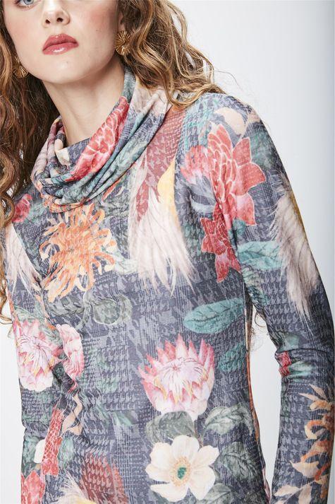 Blusa-Floral-Feminina-Detalhe--
