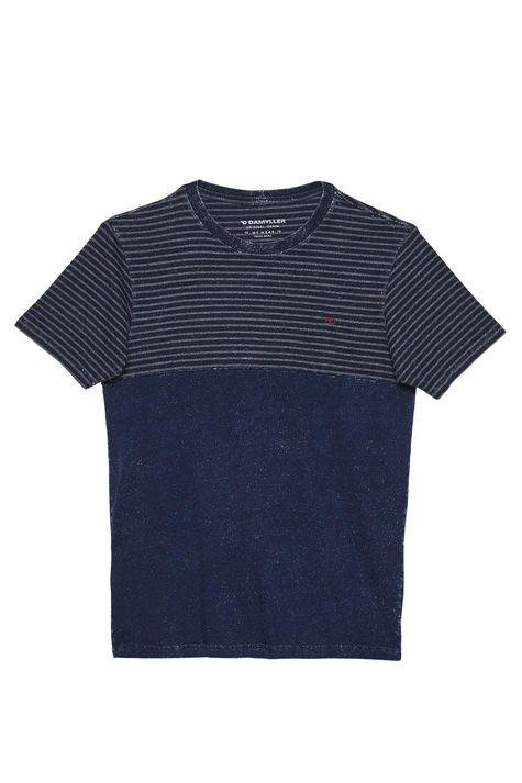 Camiseta-Masculina-em-Malha-Denim-Detalhe-Still--